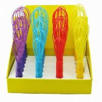 Buy cheap FDA silicone egg whisk for kitchen ,colorful silicone silicone egg beaters from wholesalers