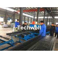 Buy cheap CT-600 Ladder Type Perforated Cable Tray Roll Forming Machine, Cable Tray Production Line from wholesalers