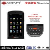 Buy cheap Wearable Smartphone Android Barcode Scanners Handheld PDA GPRS from wholesalers