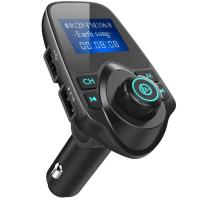Buy cheap Folder Change Bluetooth FM Transmitter AUX USB Modulator With Wireless MP3 Player Radio from wholesalers