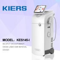 Buy cheap 1500W 808nm Salon Laser Hair Removal Machine 600W 10 * 12 Mm Spot Size from wholesalers