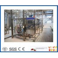 Buy cheap ISO 10000LPD stirred Industrial Yogurt Making Machine with plastic containers or cups package from wholesalers