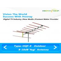 Buy cheap High Gain Directional Yagi Antenna FM / AM 45-230Mhz Terrestrial Raido 18dB Aluminum Material from wholesalers