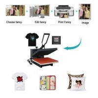 Buy cheap TRANSFER 38x38 Sublimation t-shirt Heat Press Transfer Printing Machine Product Description Model	38*38CM	40*60CM from wholesalers