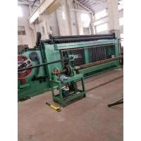 Buy cheap Mitsubishi PLC  Automatic Gabion Mesh Machine / Production Line For Seawall Entrench from wholesalers