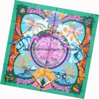 Buy cheap Screen Print Square Scarf (DX1013-2) from wholesalers