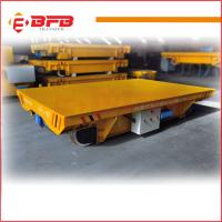 Buy cheap Cable Reels Powered Material Handling Rail Flat Cart industry usage from wholesalers