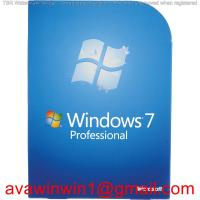 Buy cheap Desktop Computer Windows 7 Pro License , Windows 7 Professional 32 / 64 Bit from wholesalers