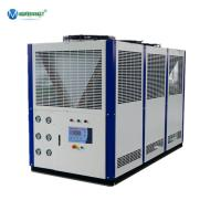 Buy cheap Heat Exchanger Plate Built In Low Temp Fluid Chiller 30hp 16Tons Glycol Chiller Beer Line from wholesalers
