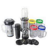 Buy cheap Multifunctional Food Processors with 250W Power/Stainless Steel Cross, Flat Blade/Tall and Short Cup from wholesalers