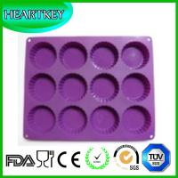 Buy cheap Circle Type Muffin Sweet Candy Jelly Lce Silicone Mould Chocolate Molds from wholesalers