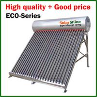 Buy cheap Eco Friendly Swimming Pool Heat Pump , Heat Pipe Solar Water Heater from wholesalers