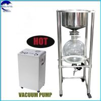 Buy cheap chemical lab 20L Stainless Steel Filter price for separates solid-liquid mixtures from wholesalers