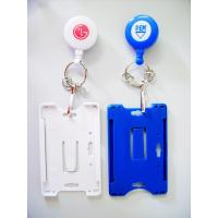 Buy cheap Personalised Plastic Name Tag Holders , Yoyo Badge Holder With BSCI from wholesalers