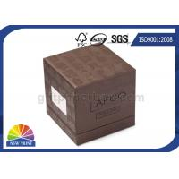 Buy cheap Soy Ink Printing Chipboard Box Packaging Front Window 3-Piece Rigid Gift Box from wholesalers