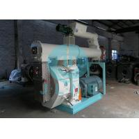 Buy cheap 90kw Cattle Animal Feed Pellet Machine 400mm Ring Die 50HZ ISO Approved from wholesalers