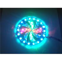 Buy cheap Big size Windmill strobe and Angel eyes flash Rainbow color hot wheels LED flashing light from wholesalers