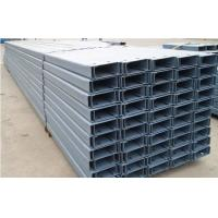 Buy cheap Common-used C and Z Section Galvanised Steel Purlins For Fix Roof And Side Claddings from wholesalers