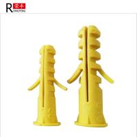 Buy cheap Multi Size Plastic Expansion Anchor With Screw Insulation Nails Home Decoration Use from wholesalers