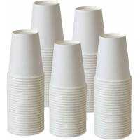 Buy cheap White Colour 4oz 100ml Take Away Single Wall Style Disposable Paper Cup from wholesalers