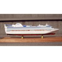 Buy cheap Scale 1:900 Fine Princess Cruise Ship Models , Container Ship Model With ABS Hand Carving from wholesalers