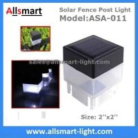 Buy cheap 2''x 2'' Inch Square Solar Fence Post Cap Light For Iron Fences Pool Boundary And Residential China Manufacturer from wholesalers