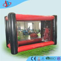 Buy cheap Strength Red Black Big Inflatable Ball Game With CE / UL Blower from wholesalers
