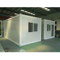 Buy cheap Fire Proof 0.6mm Flat Pack Container House Buildings Modular Stable Structure from wholesalers