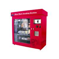 Buy cheap Automatic Mini Mart Vending Machine , 19 Inch Touch Screen Adjustable Mini Mart Coin Vending Machine from wholesalers