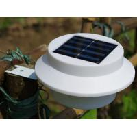 cheap 3led outdoor solar gutter lighting