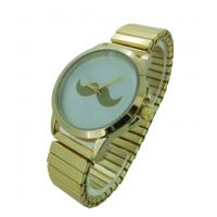Buy cheap Luxury Mustache Watch Stainless Steel Womens Big Face Watches For Men from wholesalers