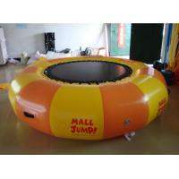 Buy cheap Inflatable Water games / inflatable water Trampoline air tight pvc tarpaulin from wholesalers