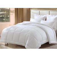 Buy cheap BV Certified White 4pcs Hotel White Duvet Cover Set Cotton Stripe from wholesalers