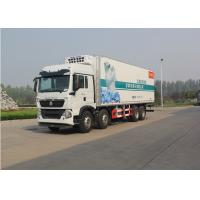 Buy cheap SINOTRUK HOWO Refrigerated Box Truck For Fruit Transportation 8x4 Driving Type from wholesalers