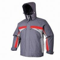 Buy cheap Winter Jacket, Made of Polyester Pongee Fabric with PVC Coating, Could be Reach Conformed from wholesalers