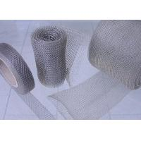 Buy cheap Compressed Knitted Wire Mesh / Demisters Good Flexibility Environmental Friendly from wholesalers