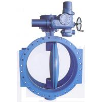 Buy cheap Double Flanged Resilient Seated AWWA C 504 Butterfly Valves With Gear Box And Handwheel from wholesalers