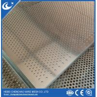 Buy cheap Perforated metal mesh information galvanized HOT SHLE from wholesalers