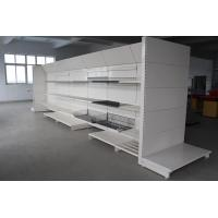 Buy cheap Convenience gondola Metal sheet and Wire Single shelving and wall shelving to retailers from wholesalers