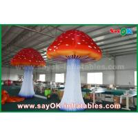 Buy cheap Oxford Cloth Giant Inflatable Mushroom Advertising Inflatables With Built - In Blower from wholesalers