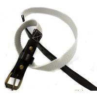 Buy cheap leather knit belts women's belts direct from guangzhou manufacotry from wholesalers
