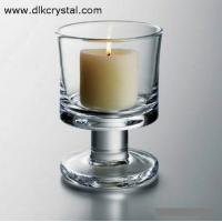Buy cheap crystal candle holder Glass candle holders ,crystal candle stick votive candle holders craft pulicrystal-321 from wholesalers
