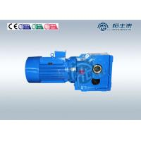 Buy cheap K37~ K187 0.37~200KW Spiral right angle Bevel Gearbox Gear Speed Reducer from wholesalers