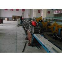 Buy cheap Low Noise Shutter Roll Forming Machine , DC24V Rolling Shutter Making Machine from wholesalers
