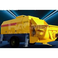 Buy cheap small concrete trailer pump sales from wholesalers