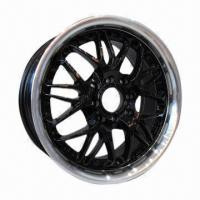 Buy cheap Aluminum Car Alloy Wheel with 67.1 to 73.1mm CB, Measures 15 x 6.5 and 17 x 7.0 Inches from wholesalers