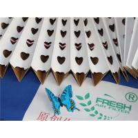 Buy cheap Customized Spray Booth Pleated Filter Paper Folding For Hardware Painting product