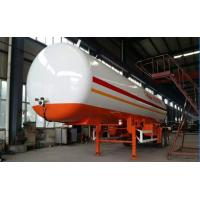 Buy cheap Double BPW/FUWA axles 17tons bulk road transported lpg gas tank, propane gas trailer from wholesalers