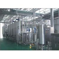 Buy cheap Almond Milk Beverage Production Line , Beverage Drink Manufacturing Equipment from wholesalers