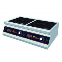 Buy cheap Commercial Two Burner Induction Cooktop , Durable Double Induction Cooker from wholesalers